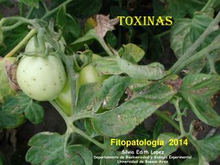 Toxinas