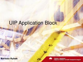 UIP Application Block