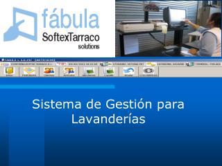Sistema de Gestión para Lavanderías