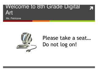 Welcome to 8th Grade Digital Art