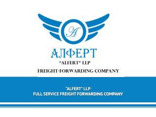 """ALFERT"" LLP FULL SERVICE FREIGHT FORWARDING COMPANY"