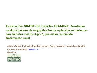 Cristina Tejera.  Endocrinólogo  R-4. Servicio Endocrinología. Hospital de  Badajoz.
