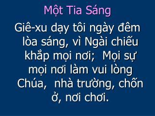 M?t Tia S�ng
