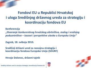 Fondovi EU u Republici Hrvatskoj
