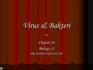 Virus &  Bakteri