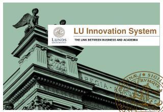 LU Innovation System