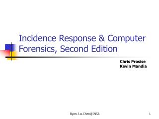 Incidence Response & Computer Forensics, Second Edition