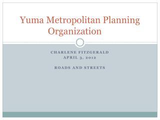 Yuma Metropolitan Planning Organization