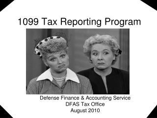 1099 Tax Reporting Program