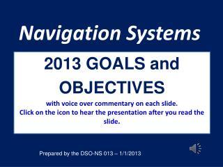 Navigation Systems