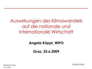 Entwicklung der Treibhausgasemissionen in Österreich