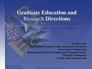 Graduate Education and  Research  Directions