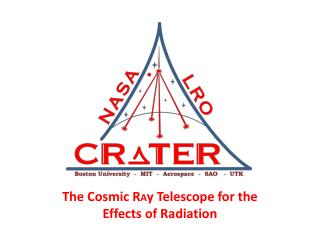 The Cosmic R A y Telescope for the Effects of Radiation