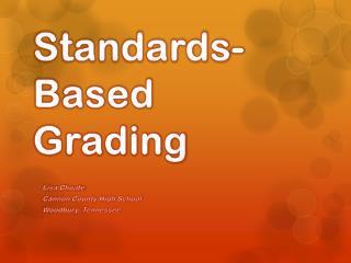 Standards-Based Grading