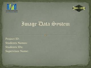 Image Data System