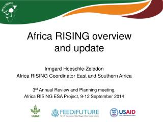 Africa RISING overview  and update