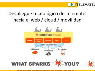 Despliegue tecnol�gico de Telematel hacia el web /  cloud  / movilidad