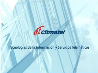 Tecnologías de la Información y Servicios Telemáticos Avanzados
