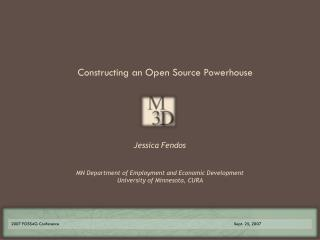 Constructing an Open Source Powerhouse