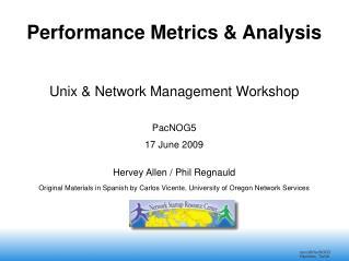 Performance Metrics & Analysis