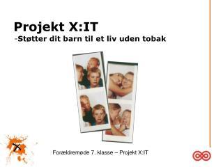 Projekt X:IT