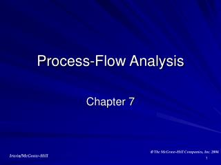Process-Flow Analysis