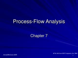 Process-Flow Analysis