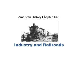 American History Chapter 14-1
