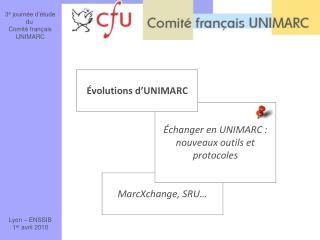 MarcXchange, SRU…
