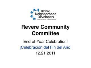 Revere Community Committee