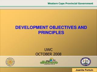 UWC OCTOBER 2008