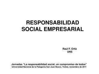 Raúl F. Ortiz UNS