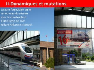 II-Dynamiques et mutations