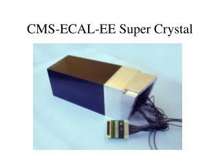 CMS-ECAL-EE Super Crystal