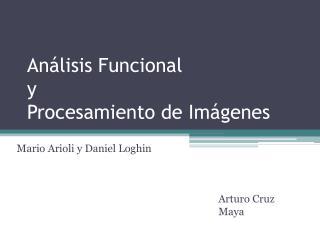 Análisis Funcional  y Procesamiento de Imágenes