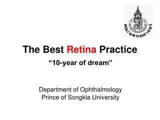The Best  Retina  Practice