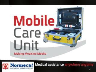 Mobile Care Unit - Examinations