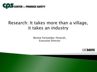 Bonnie Fernandez-Fenaroli,  Executive Director