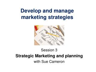 Develop and manage marketing strategies