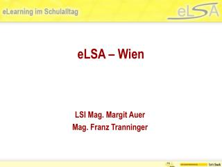 eLSA � Wien