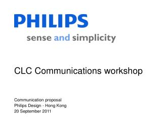CLC Communications workshop
