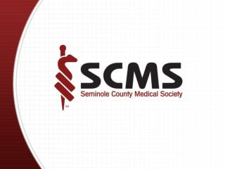 SCMS 2009 Legislative Agenda