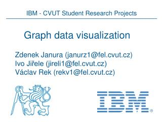 Graph data visualization