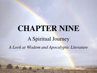 A Spiritual Journey A Look at Wisdom and Apocalyptic Literature