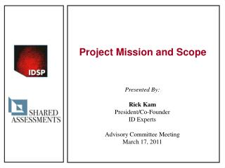 Project Mission and Scope