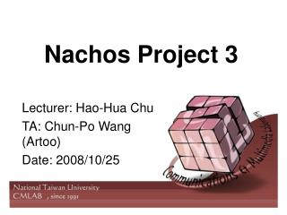 Nachos Project 3