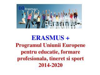 """De  ce  """"Erasmus""""  ?"""