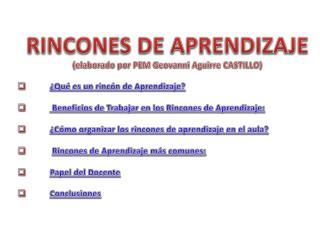 RINCONES DE APRENDIZAJE (elaborado por PEM Geovanni Aguirre  CASTILLO)