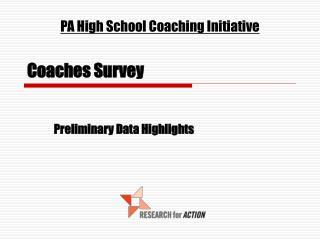 Coaches Survey