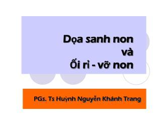 D?a sanh non v� ?i r? - v? non